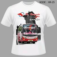 Kaos Tshirt Baju Bus Haryanto Tsalju