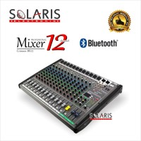 MIXER 12 Channel BLUETOOTH + USB Equalizer CRIMSON BX12 BX-12