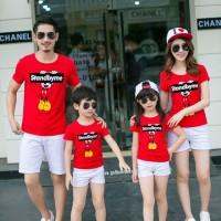 Baju Family Couple   Kaos Pasangan Keluarga   Kopel 2 Anak SBM 10507