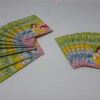 Angpao/Amplop Lebaran Princess Hijau isi 100