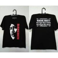 Kaos Bang Ben Ogah Politik, Tshirt Benyamin Sueb Cotton Combed