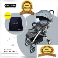 STROLLER BABYELLE AVIO RS 939 grey