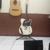 Guitar Electric Fender Telecaster White Custom