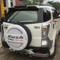 Cover Ban / Sarung Ban Serep Rush Putih