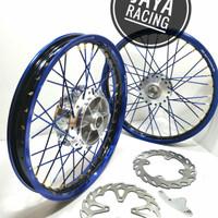 velg TDR ring 17 Lebar 160 140 Ninja R - Ninja RR sepaket lengkap
