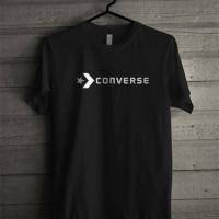 Kaos Tshirt Baju Combed 30S Distro Converse All Star Murah Jersey