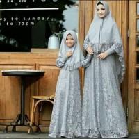 couple hijab naura/ couple ibu dan anak/cp baju muslim/couple gamis