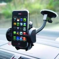 Standing docking bracket handphone hp holder mobil GPS unik - HCR032