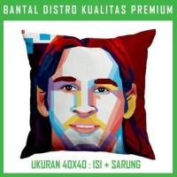 Bantal WPAP Messi 1 WPAP21 Bantal Sofa/Mobil