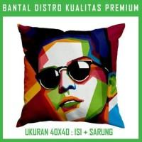 Bantal WPAP Bruno Mars 1 WPAP48 Bantal Sofa/Mobil