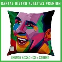 Bantal WPAP Messi 2 WPAP22 Bantal Sofa/Mobil