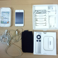 ipod touch 4th generation (64GB) white + docking apple