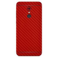 3M Skin / Garskin Protector Xiaomi Redmi 5 Plus - Red Carbon