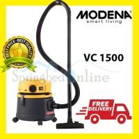 VACUM Modena Puro Vacuum Cleaner VC 1500 Vakum Basah dan Kering
