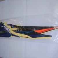 Stiker Bodi & Lis Body & Striping Shogun Sp 2008 Hitam Biru