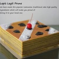 Lapis Legit Prune Cake'/ Kue