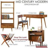 Set Furniture - Office Room Gaya Retro Modern