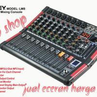 profesional audio mixer ASHLEY LM8 (8channel) Bluetooth