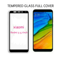 Tempered Glass Full 3D Xiaomi Redmi 5 Screen Protector Curved Warna