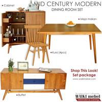 Set Furniture - Dining Room Gaya Retro Modern