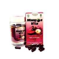 Jamu Herbal Mangosvita 60 kapsul 500 mg (ekstrak manggis) Anti Oksidan