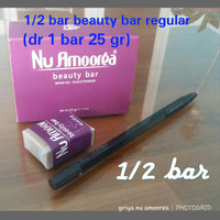 Sabun Nu Amoorea Beauty Bar 1/2 bar (dari 1 bar 25 gr) Original