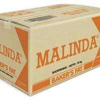 Malinda mentega putih / shortening (nabati)