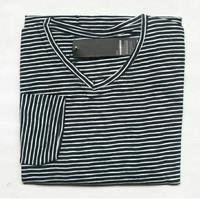 Baju belang simple hitam putih
