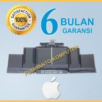 Original Baterai Apple A1398 A1494 MacBook Pro 15 Retina 2013-2014