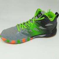 Sepatu olahraga specs original Quicker MID granite/green new 2018