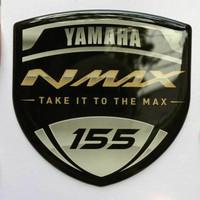 Aksesoris motor Stiker Dom Yamaha NMAX Gold - Take it To The Max -