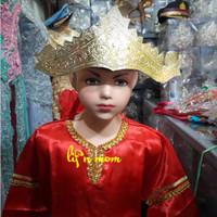 baju adat anak bengkulu berikut mahkota adat tradisional