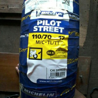 PAKETAN BAN MICHELIN 110/70-17 & 140/70-17 PILOT STREET TUBELESS