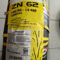 Promo Ban Zeneos 100/80-14 Tubeless ZN62 Produksi By Gajah Tunggal