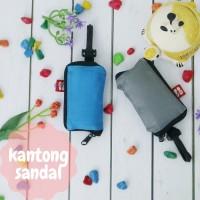 Kantong Sandal Tas Sepatu Traveling Parasut Perlengkapan Haji Umroh
