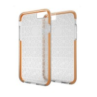 Gear4 JumpSuit D3O Back Cover Protective Case iPhone 6s+ 6s Plus Clear