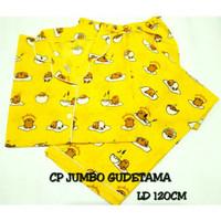 CP JUMBO GUDETAMA / XXL / baju tidur piyama wanita dewasa