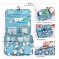 sale Korea travel hanging gantung toiletry kosmetik pouch bag organiz
