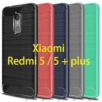 Xiaomi Redmi 5 5+ Plus SPIGEN Like Rugged Armor Carbon LEATHER Case