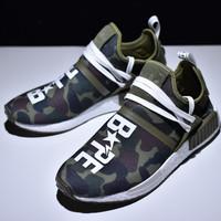 Adidas Nmd Human Race Camo x Pharrell x Bape