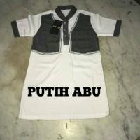 baju muslim koko rompi anak dan bayi. gamis jubah takwa anak laki laki