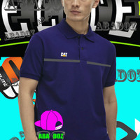 Kaos kerah baju Polo shirt Caterpillar Tshirt t shirt
