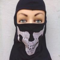 Masker Ninja Katun Tengkorak - Balaclava Skull
