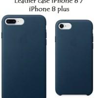Premium Leather Case Casing Iphone 8 / 8 Plus model Original Apple OEM