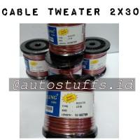 Kabel Tweater 2x30 / Cable Tweater 2x30