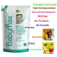 Babymax 450ml Refill Baby max Pencuci Botol Buah Sayur Cleanser