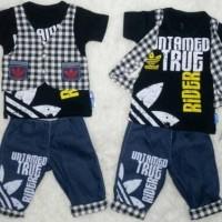 Baju Bayi Laki Laki Stelan Tuxedo Baju Pesta Kondangan Adidas Jeans