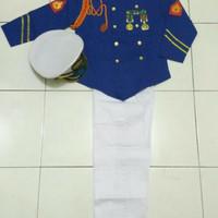 Baju Kostum Seragam Karnaval Anak AKABRI / perwira / akpol size 2&3