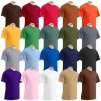 Size L - Kaos Polos Murah Cotton Combed 20S Kaos Pria Kaos Wanita