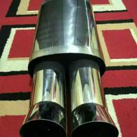Knalpot 5Zigen Sebring Full Stanlise Steel Untuk BMW (All Series)